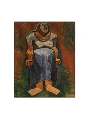 Tablou Arta Clasica Pictor Pablo Picasso Farm woman 1908 80 x 100 cm