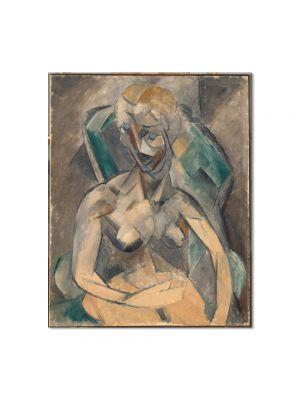 Tablou Arta Clasica Pictor Pablo Picasso Female nude 1908 80 x 100 cm