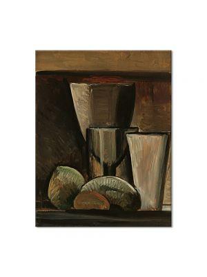 Tablou Arta Clasica Pictor Pablo Picasso Glasses and Fruit 1908 80 x 100 cm