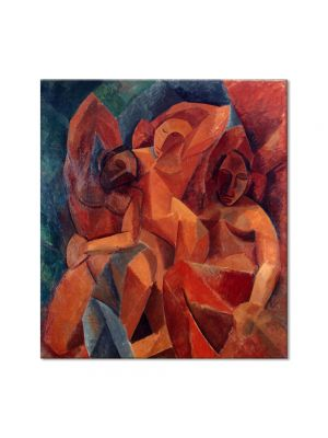 Tablou Arta Clasica Pictor Pablo Picasso Three women 1908 80 x 90 cm