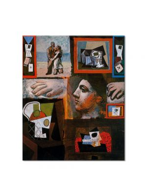 Tablou Arta Clasica Pictor Pablo Picasso Studio 1920 80 x 90 cm