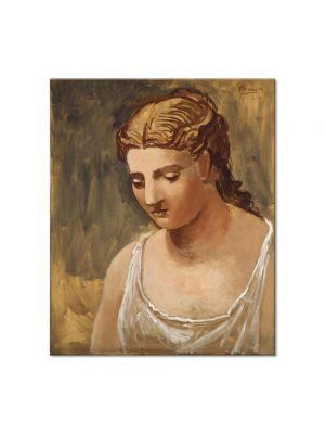 Tablou Arta Clasica Pictor Pablo Picasso Classical Head 1922 80 x 90 cm