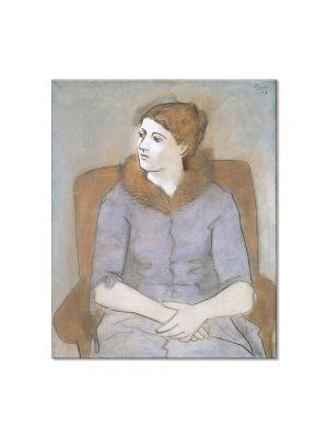 Tablou Arta Clasica Pictor Pablo Picasso Madame Picasso 1923 80 x 90 cm