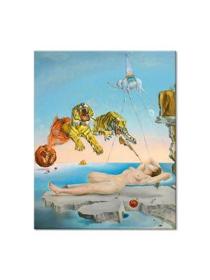 Tablou Arta Clasica Pictor Salvador Dali One Second before Awakening 1944 80 x 100 cm