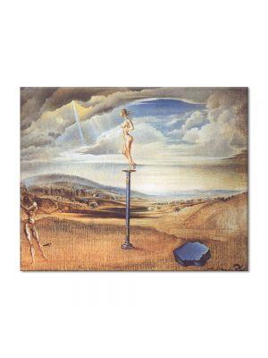 Tablou Arta Clasica Pictor Salvador Dali Fountain of Milk Spreading Itself Uselessly on Three Shoes 1945 80 x 100 cm