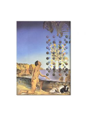 Tablou Arta Clasica Pictor Salvador Dali Dali Nude, in Contemplation Before the Five Regular Bodies 1954 80 x 100 cm