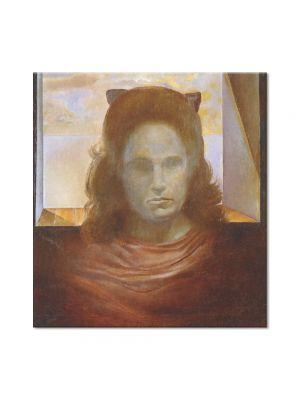 Tablou Arta Clasica Pictor Salvador Dali Portrait of Gala. Gala Against the Light 1965 80 x 90 cm