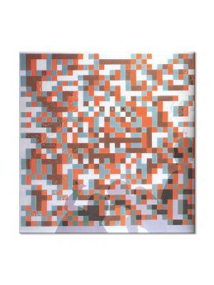 Tablou Arta Clasica Pictor Salvador Dali Cybernetic Odalisuqe-Homage to Bela Julesz 1978 80 x  80 cm