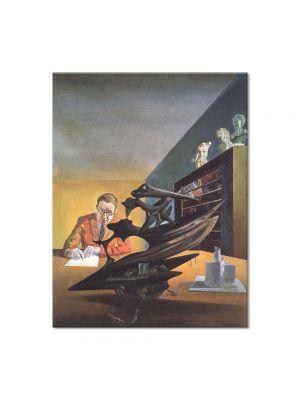 Tablou Arta Clasica Pictor Salvador Dali Portrait of Mr. Emilio Terry 1930 80 x 100 cm