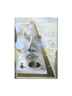 Tablou Arta Clasica Pictor Salvador Dali Apparition of the Visage of Aphrodite of Cnidos in a Landscape 1981 80 x 100 cm