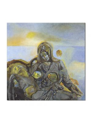 Tablou Arta Clasica Pictor Salvador Dali Pieta 1983 80 x  80 cm