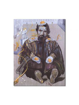 Tablou Arta Clasica Pictor Salvador Dali Velazquez 1982 80 x 100 cm