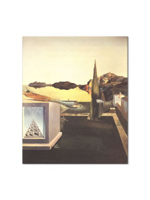 Tablou Arta Clasica Pictor Salvador Dali Surrealist Object Gauge of Instantaneous Memory 1932 80 x 90 cm