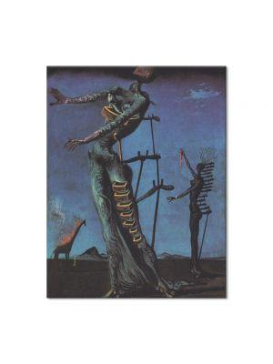 Tablou Arta Clasica Pictor Salvador Dali Flaming Giraffe 1937 80 x 100 cm