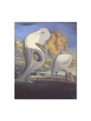 Tablou Arta Clasica Pictor Salvador Dali The Architectonic Angelus of Millet 1933 80 x 100 cm