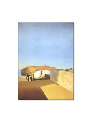 Tablou Arta Clasica Pictor Salvador Dali Persistence of Fair Weather 1934 80 x 100 cm