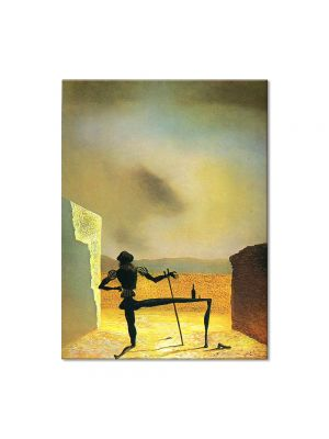 Tablou Arta Clasica Pictor Salvador Dali The Ghost of Vermeer van Delft which Can Be Used as a Table 1934 80 x 100 cm