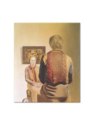 Tablou Arta Clasica Pictor Salvador Dali The Angelus of Gala 1935 80 x 90 cm