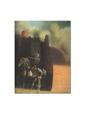 Tablou Arta Clasica Pictor Salvador Dali The Horseman of Death 1935 80 x 100 cm