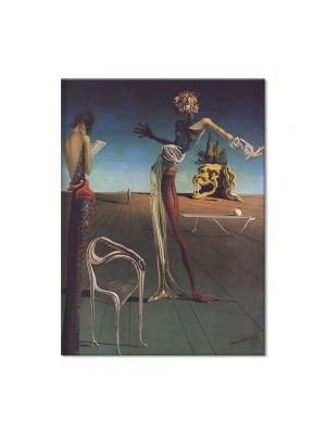 Tablou Arta Clasica Pictor Salvador Dali Woman with a Head of Roses 1935 80 x 100 cm