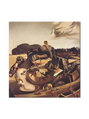 Tablou Arta Clasica Pictor Salvador Dali Autumnal Cannibalism 1936 80 x  80 cm
