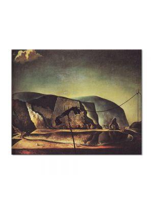 Tablou Arta Clasica Pictor Salvador Dali Mountain Lake 1938 80 x 100 cm