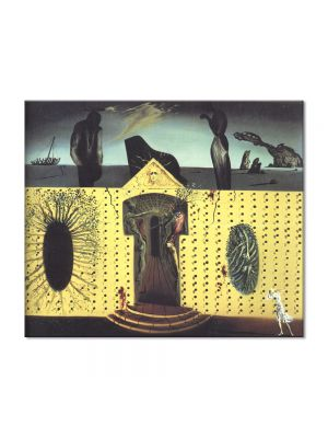 Tablou Arta Clasica Pictor Salvador Dali Mad Tristan 1939 80 x 90 cm