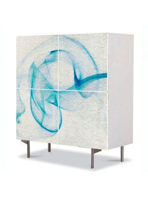 Comoda cu 4 Usi Art Work Abstract Textura , 84 x 84 cm