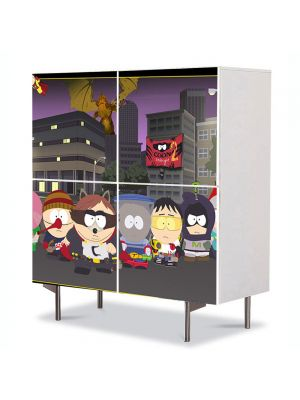 Comoda cu 4 Usi Art Work pentru Copii Animatie South Park Coon , 84 x 84 cm