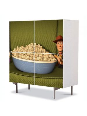 Comoda cu 4 Usi Art Work pentru Copii Animatie Toy Story , 84 x 84 cm