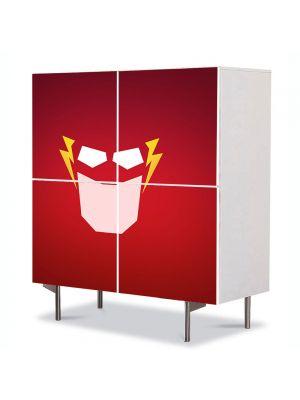 Comoda cu 4 Usi Art Work pentru Copii Animatie Flash , 84 x 84 cm