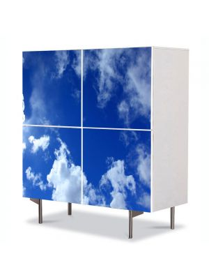 Comoda cu 4 Usi Art Work Peisaje Cer, 84 x 84 cm