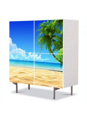Comoda cu 4 Usi Art Work Peisaje Infinit, 84 x 84 cm