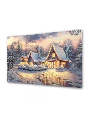 Tablou Canvas Iarna Peisaj de poveste