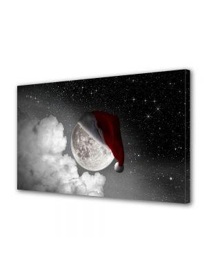 Tablou Canvas Iarna Luna festiva