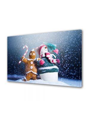 Tablou Canvas Iarna Figurine