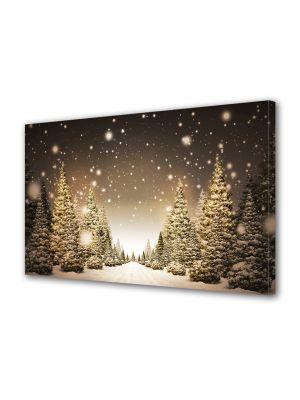 Tablou Canvas Iarna Peisaj de sarbatori
