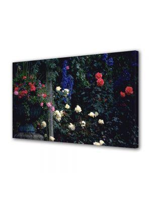 Tablou VarioView MoonLight Fosforescent Luminos in intuneric Flori In gradina cu flori