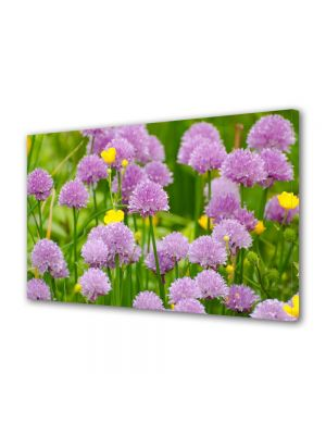 Tablou Canvas Flori Flori violet salbatice