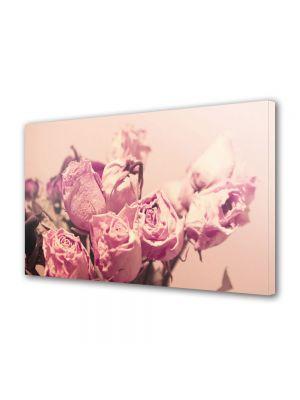 Tablou Canvas Flori Buchet de trandafiri roz