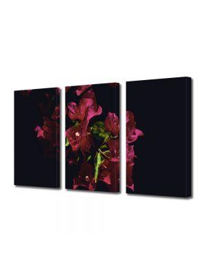 Set Tablouri Multicanvas 3 Piese Flori Floricica
