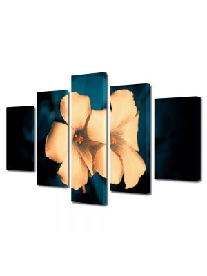 Set Tablouri Multicanvas 5 Piese Flori Flori superbe
