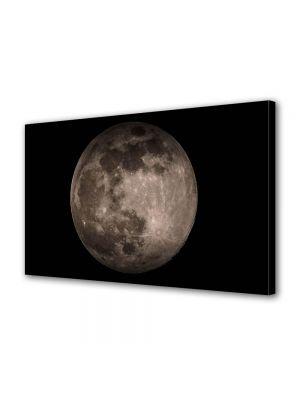 Tablou Canvas Halloween Luna de aproape