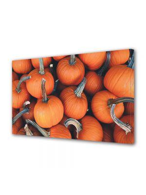 Tablou Canvas Halloween Halloween dovleci portocalii
