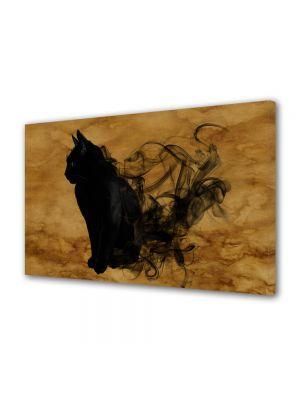 Tablou Canvas Halloween Pisica neagra Halloween