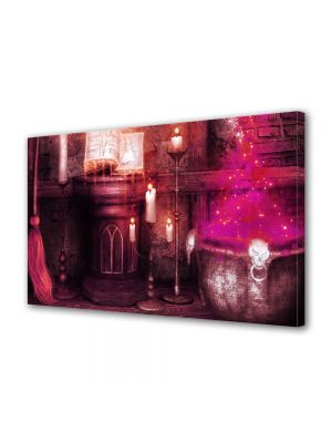 Tablou Canvas Halloween Loc de magie Halloween