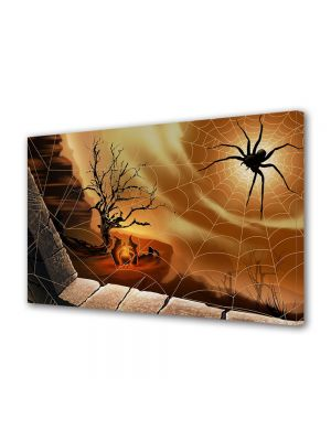 Tablou Canvas Halloween Panza de paianjen