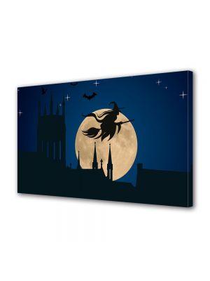 Tablou Canvas Halloween Halloween vrajitoare pe matura