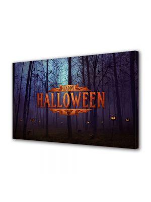 Tablou Canvas Halloween Petrecere Halloween in padure