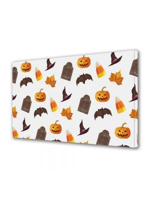 Tablou Canvas Halloween Elemente de Halloween